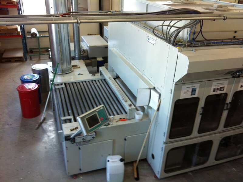 Venjakob Spraying Machine - second-hand HGS-DUO/c main picture