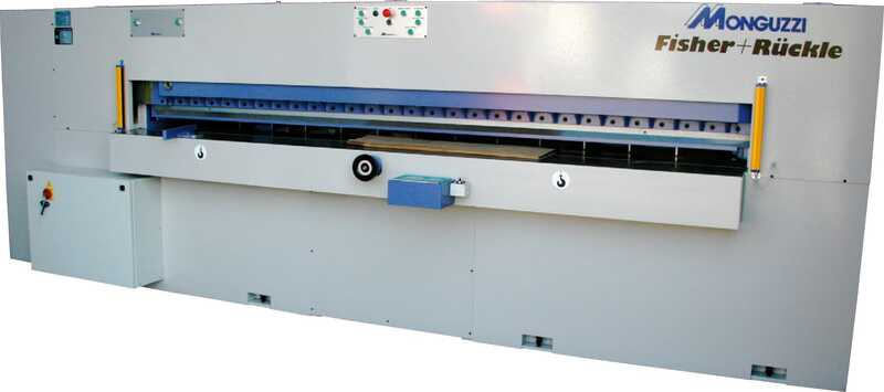Fisher + Rückle Single-Knife Veneer Guillotine - NEW CUTMASTER AFECO 3200 main picture