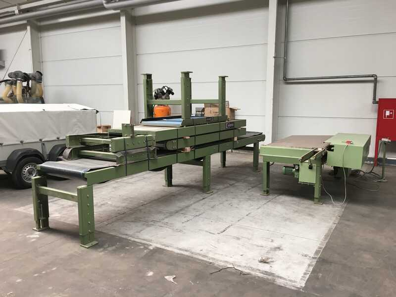 Bargstedt Work Piece Return Conveyor - second-hand TFU 02/R/105 main picture