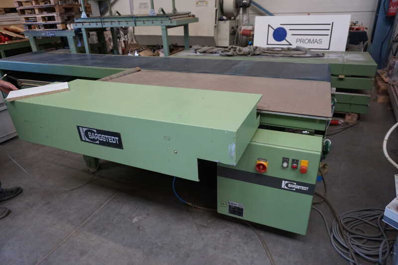Bargstedt Work Piece Return Conveyor - second-hand TFU 02/R/105 (1)