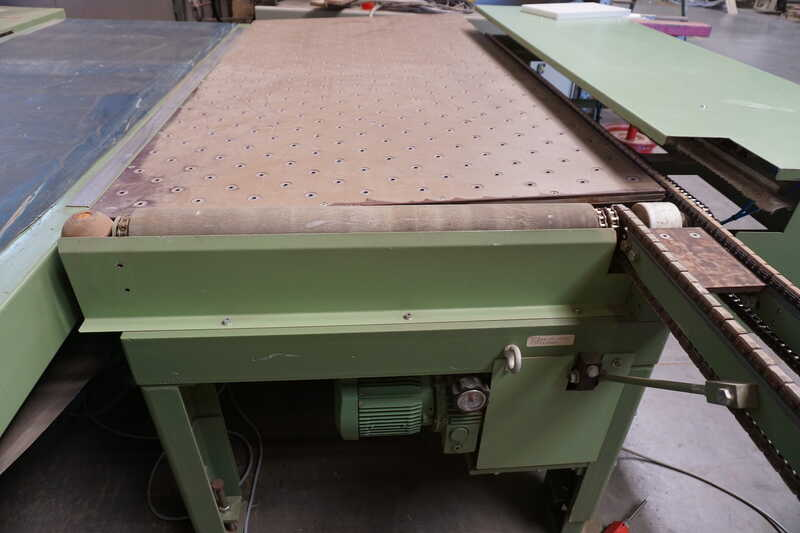 Bargstedt Work Piece Return Conveyor - second-hand TFU 02/R/105 (5)