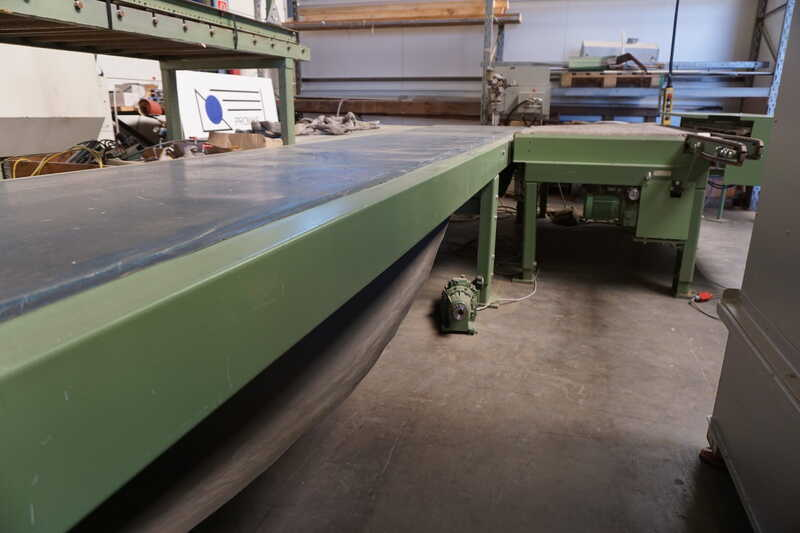 Bargstedt Work Piece Return Conveyor - second-hand TFU 02/R/105 (9)