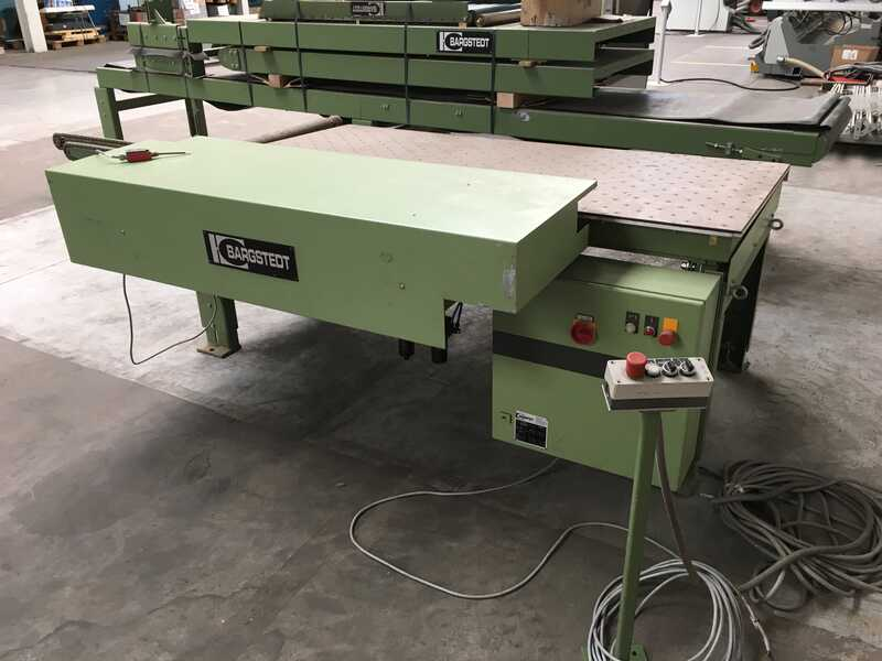 Bargstedt Work Piece Return Conveyor - second-hand TFU 02/R/105 (14)