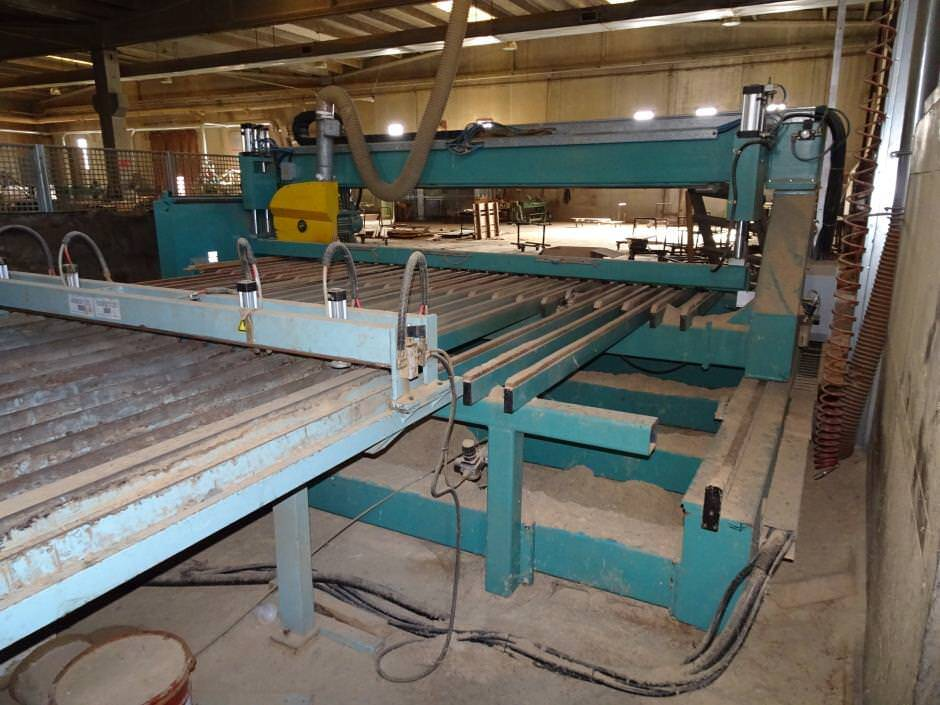 Nardi Solid Wood Gluing Line Second Hand Promas