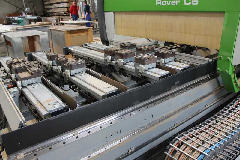 Biesse CNC-Processing Center - second-hand Rover (7)