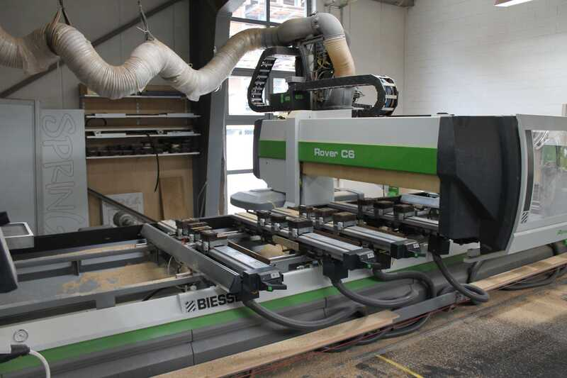 Biesse CNC-Processing Center - second-hand Rover (8)