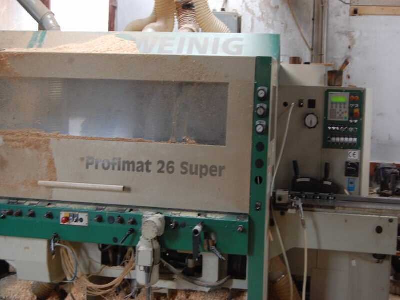 Weinig 4-Side-Planer - second hand Profimat 26 Super main picture