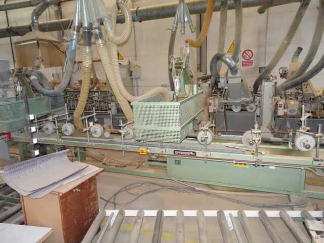 Barberan Double Cross Cut Saw for Profile Strips - second-hand PLC 150/250 main picture