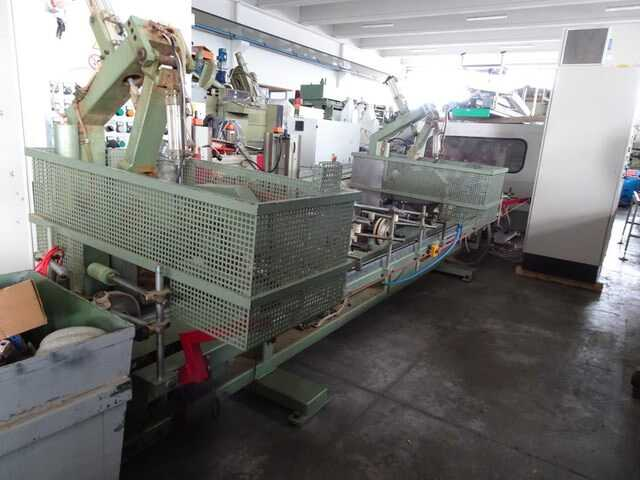 Barberan Double Cross Cut Saw for Profile Strips - second-hand PLC 150/250 (2)
