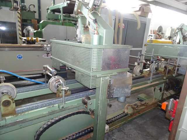 Barberan Double Cross Cut Saw for Profile Strips - second-hand PLC 150/250 (4)