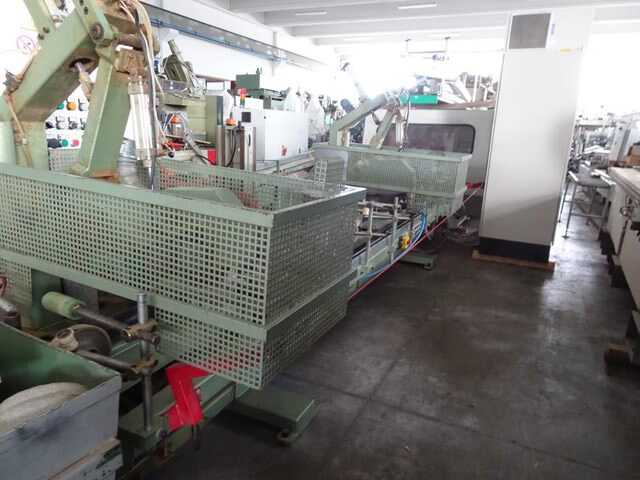 Barberan Double Cross Cut Saw for Profile Strips - second-hand PLC 150/250 (6)
