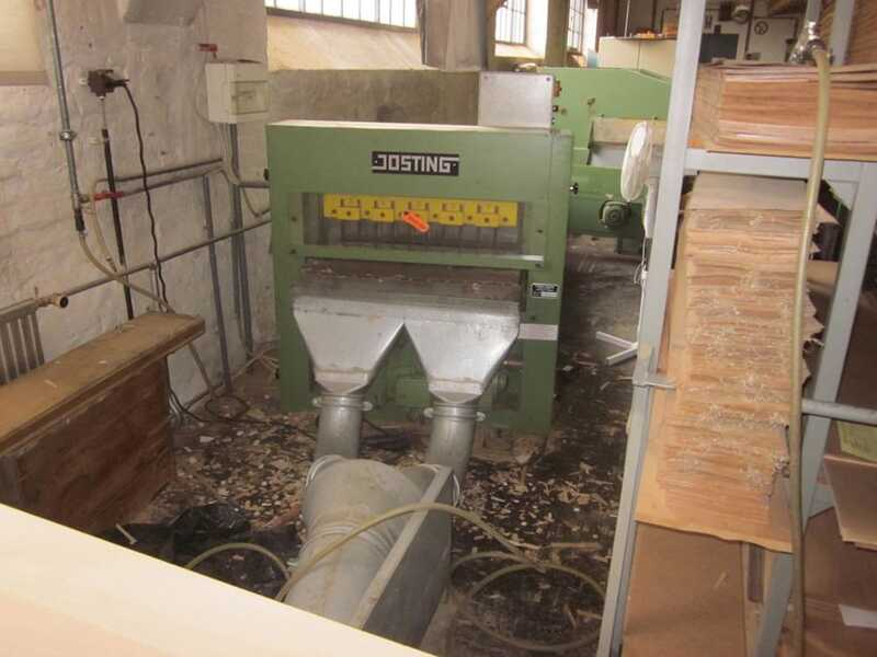 Josting Veneer Waste Chipper - second-hand FAZ 100 main picture