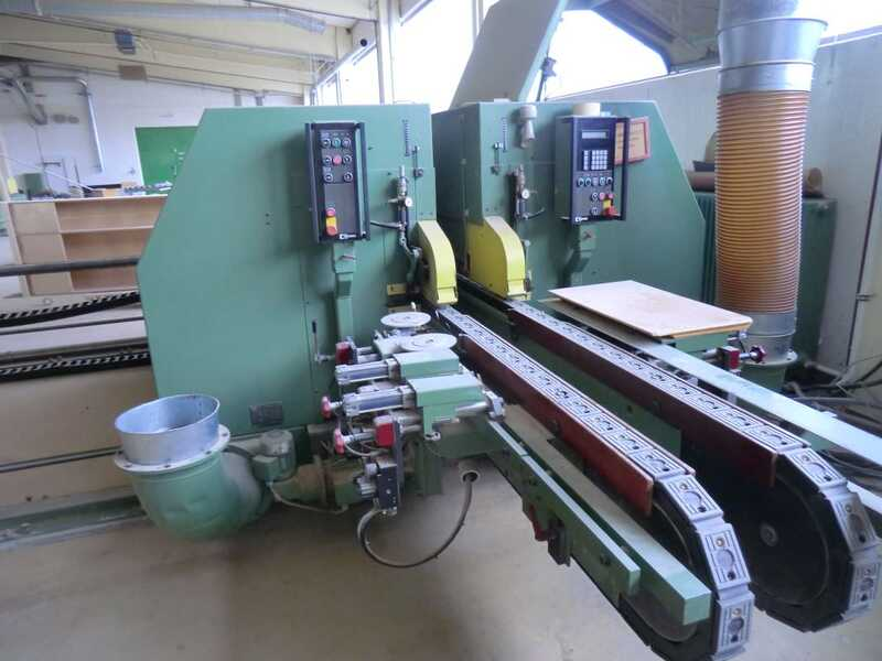 Homag Double End Tenoner - second-hand FR (1)
