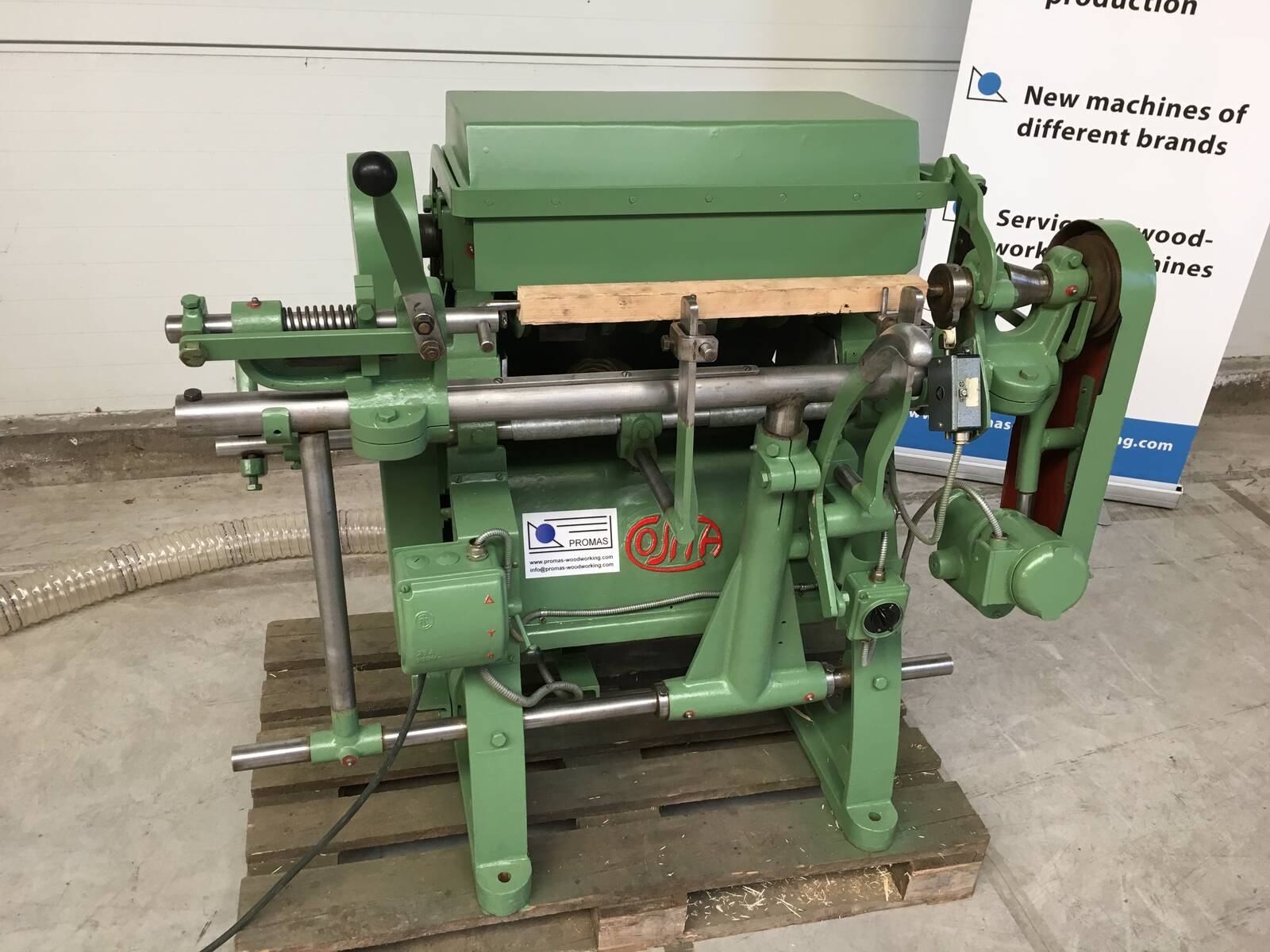 COSMA Profile Bar Copying Machine for hammer handles - second-hand