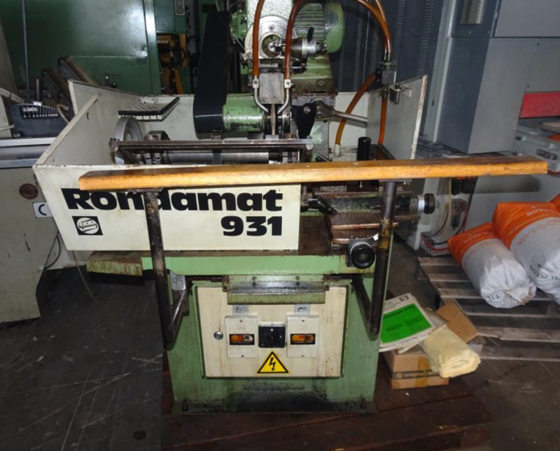 Weinig Grinder and Sharpener for Profile Knives - second-hand Rondamat 931 main picture