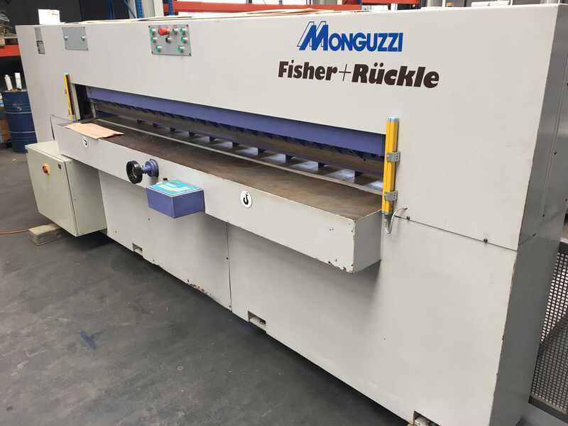 Fisher + Rückle Single Knife Veneer Guillotine - second-hand AFECO 2800 main picture