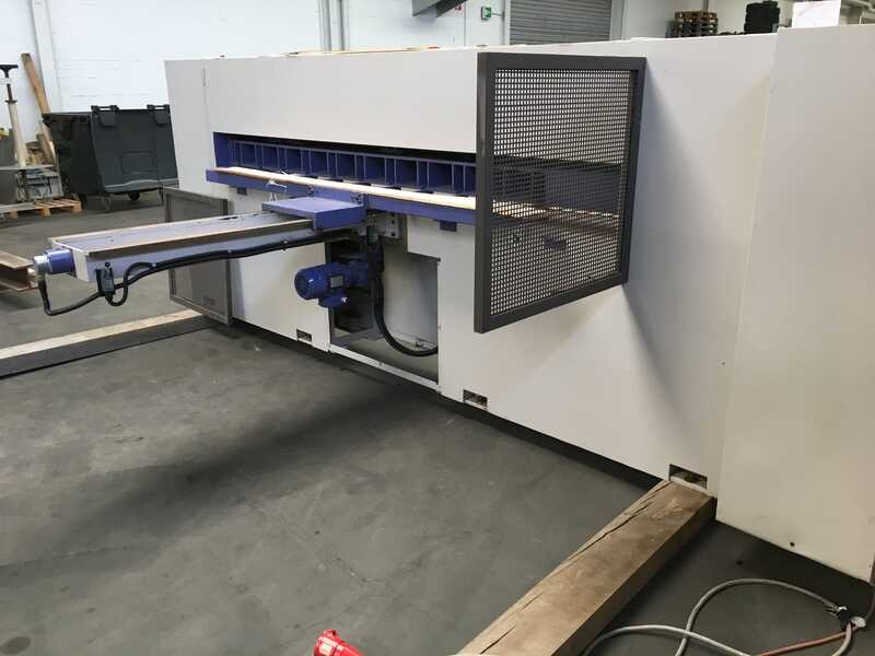 Fisher + Rückle Single Knife Veneer Guillotine - second-hand AFECO 2800 (5)