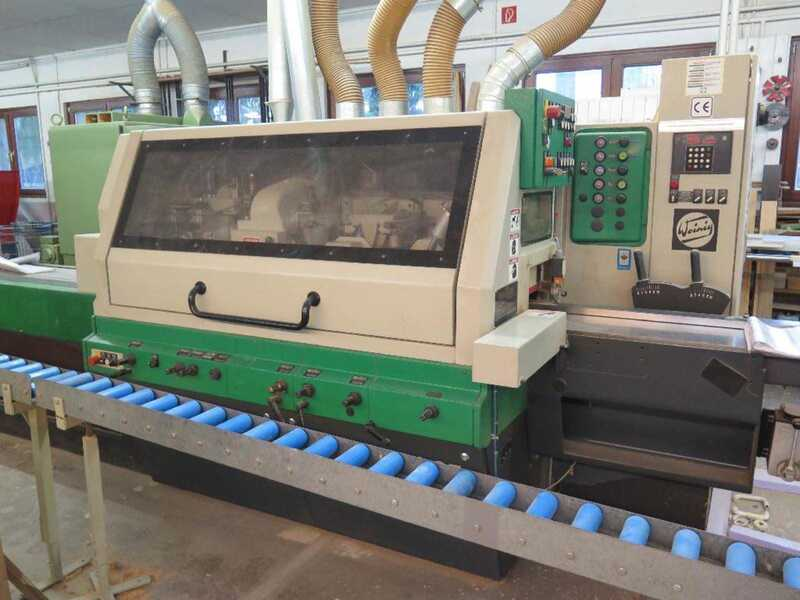 Weinig Four-Side Planer - second-hand Profimat 23 main picture