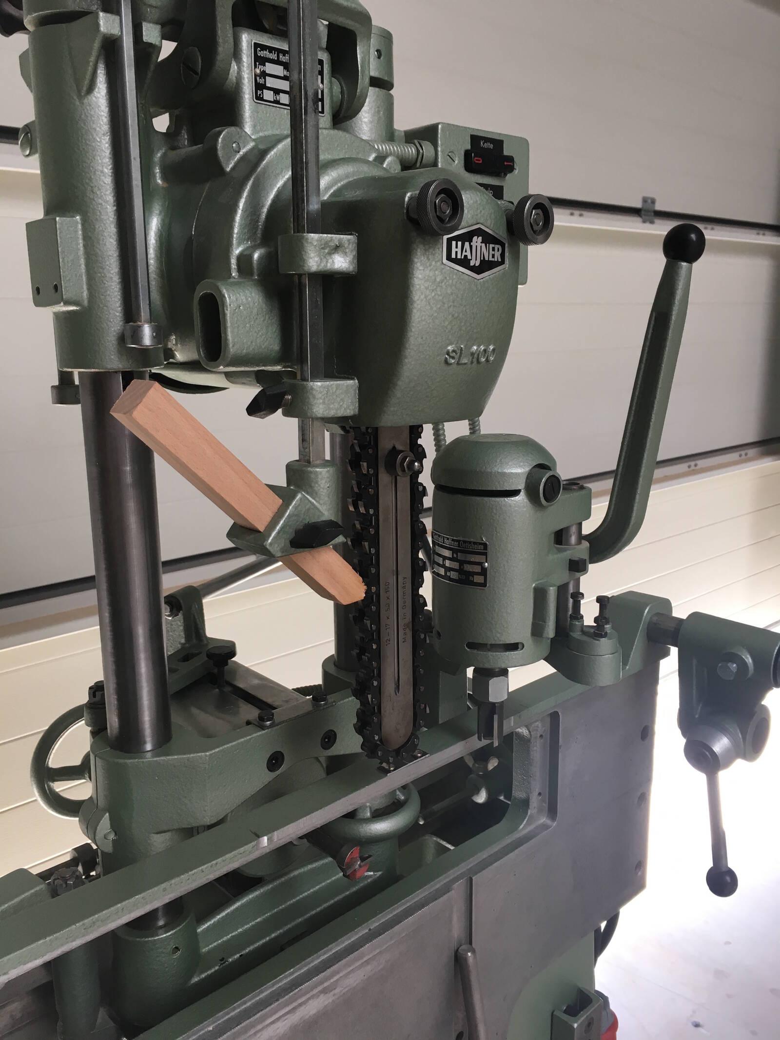 Haffner Chain Mortiser Lock Case Milling Machine
