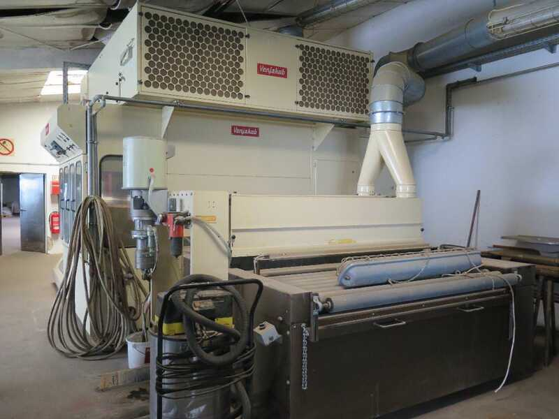 Venjakob Paint Spray Line - second-hand HGS main picture