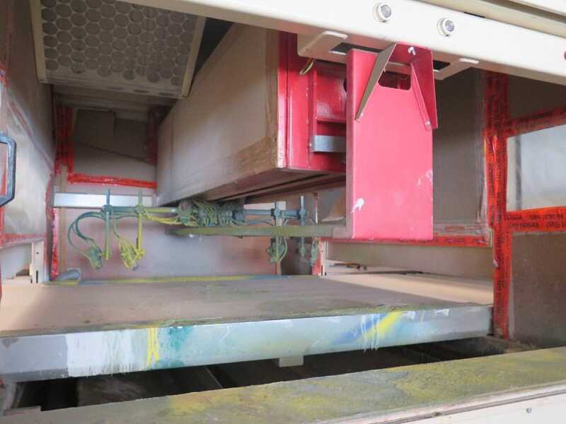 Venjakob Paint Spray Line - second-hand HGS (2)