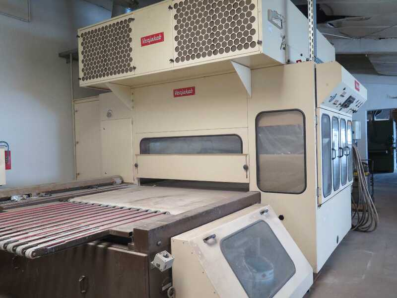 Venjakob Paint Spray Line - second-hand HGS (3)