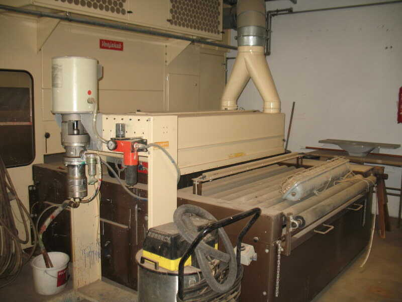 Venjakob Paint Spray Line - second-hand HGS (6)