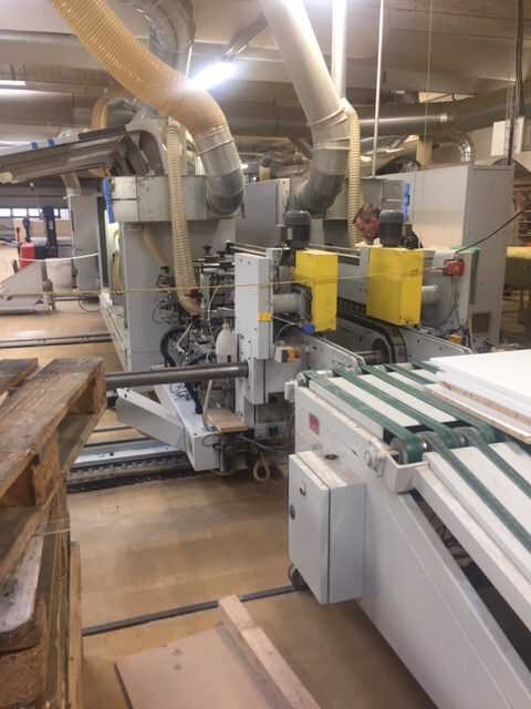 Homag Formatting and Edge Processing Machine - second-hand KF20/18/QA (1)
