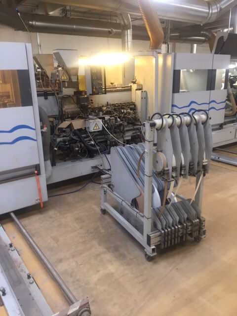 Homag Formatting and Edge Processing Machine - second-hand KF20/18/QA (3)