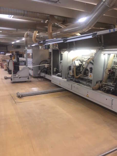 Homag Formatting and Edge Processing Machine - second-hand KF20/18/QA (12)