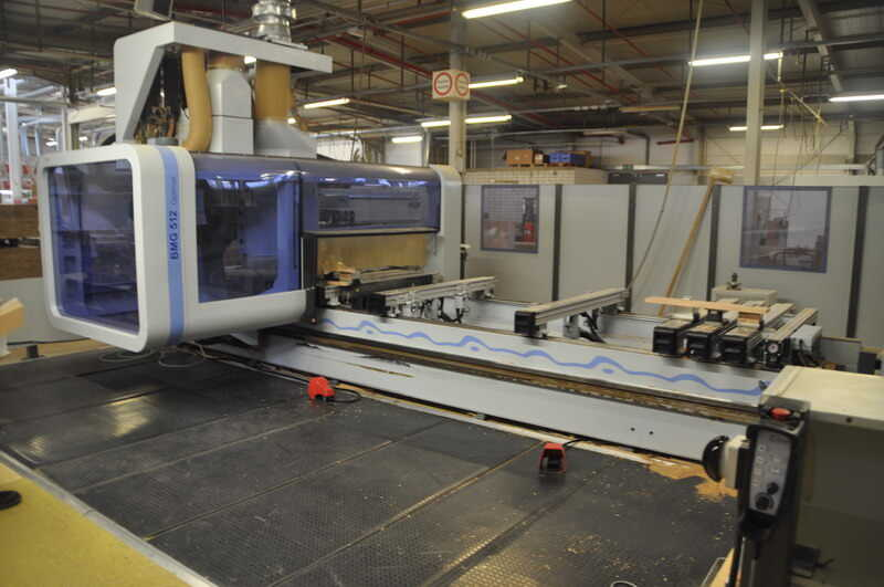 Homag CNC-Processing Center - second-hand BMG 512/40/12/F/K main picture