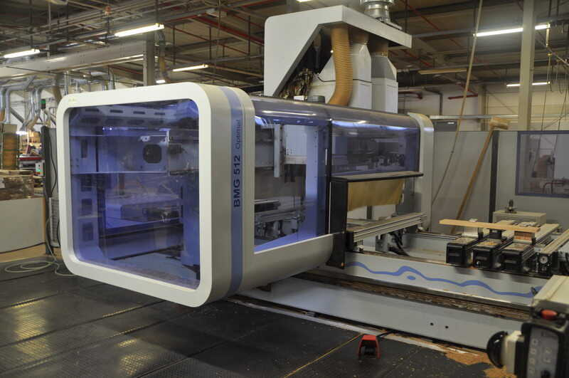 Homag CNC-Processing Center - second-hand BMG 512/40/12/F/K (2)