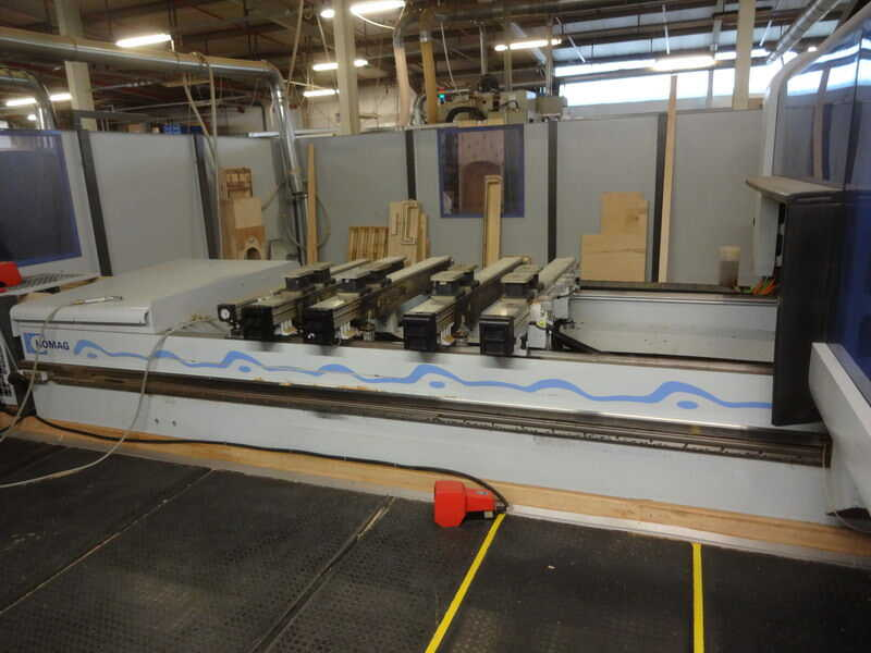 Homag CNC-Processing Center - second-hand BMG 512/40/12/F/K (3)