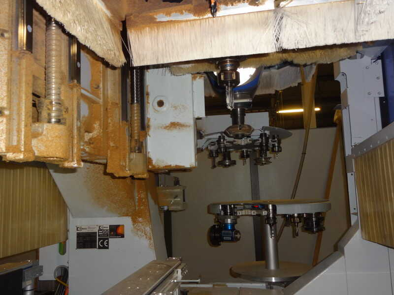 Homag CNC-Processing Center - second-hand BMG 512/40/12/F/K (7)