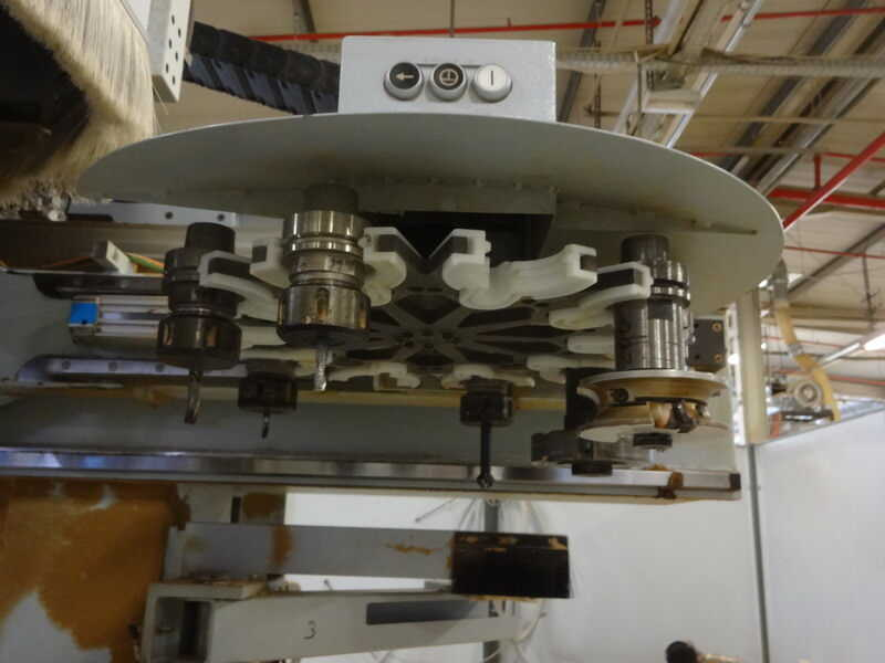 Homag CNC-Processing Center - second-hand BMG 512/40/12/F/K (9)
