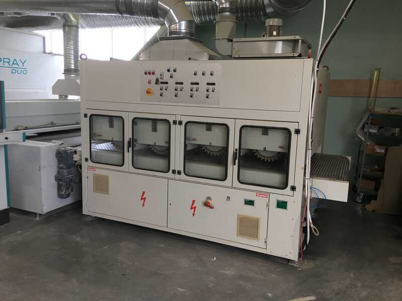 Venjakob Complete UV-Spray Painting Line - second-hand (1)