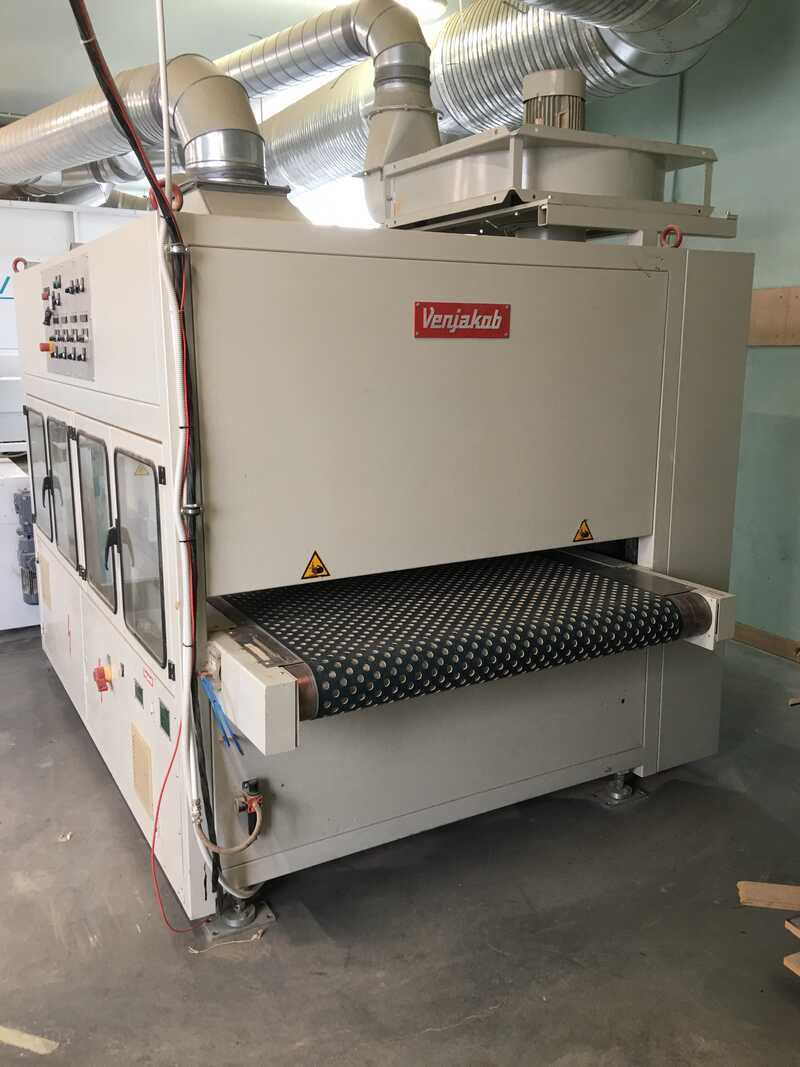 Venjakob Complete UV-Spray Painting Line - second-hand (2)