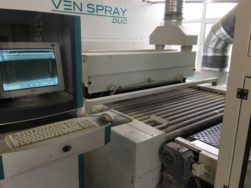 Venjakob Complete UV-Spray Painting Line - second-hand (4)