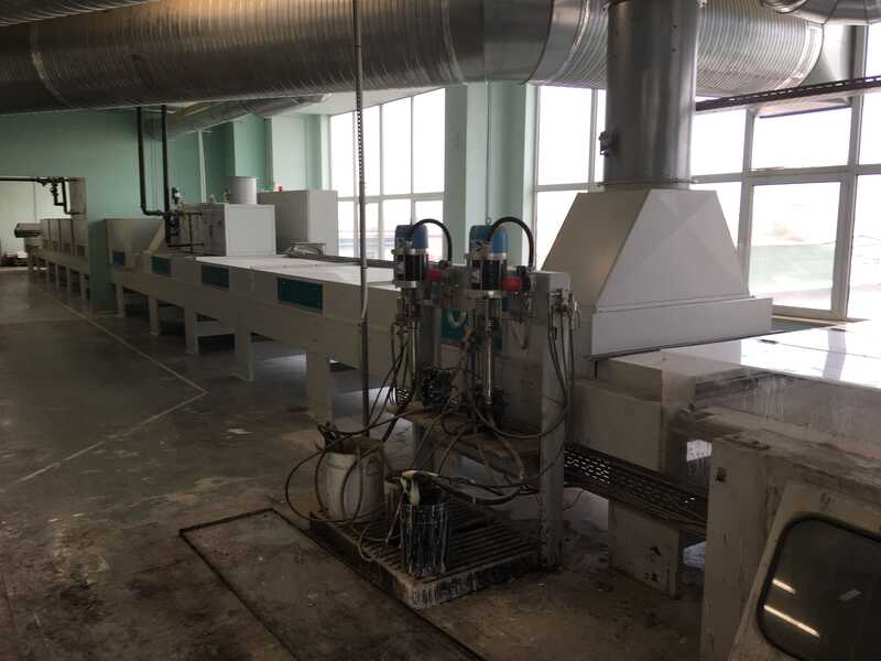 Venjakob Complete UV-Spray Painting Line - second-hand (11)