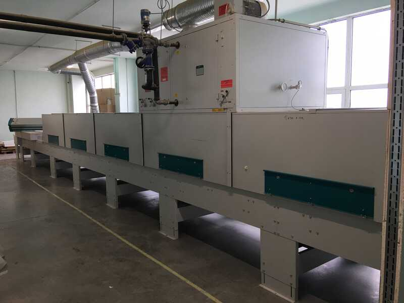 Venjakob Complete UV-Spray Painting Line - second-hand (15)