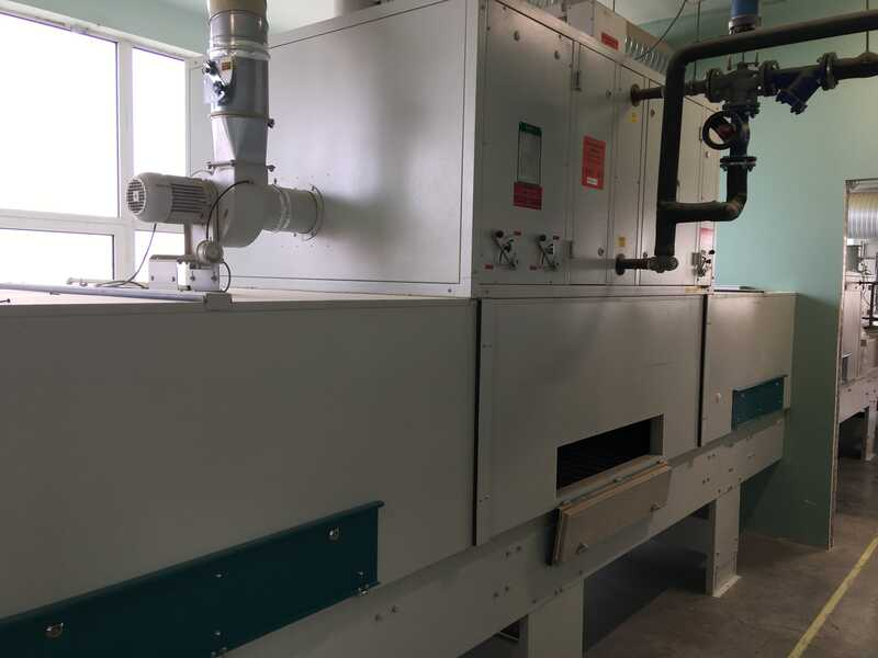 Venjakob Complete UV-Spray Painting Line - second-hand (17)