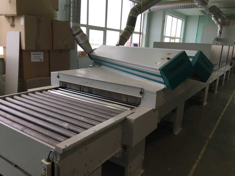 Venjakob Complete UV-Spray Painting Line - second-hand (19)