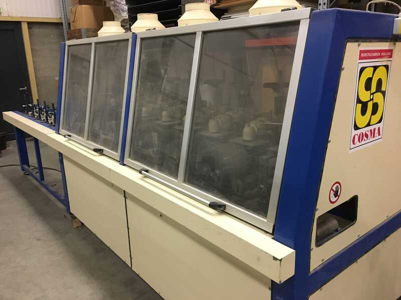 COSMA Brush Sander / Structuring Machine - second-hand 8 H (5)