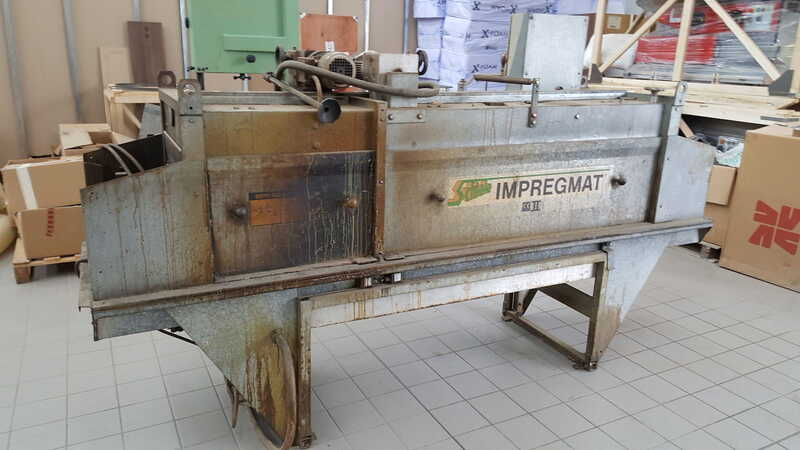Schiele Impregnating System / Flood Machine with Brush Expeller - second-hand main picture