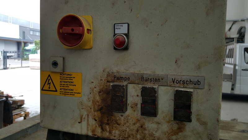 Schiele Impregnating System / Flood Machine with Brush Expeller - second-hand (4)