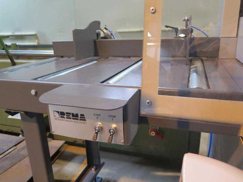 Rema Undertable Cross Cut Saw - second-hand DMDK 50C (2)