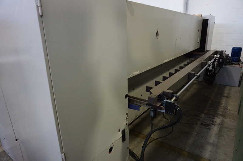 Monguzzi Double Knife Veneer Guillotine - second-hand TRM 2 L 3600 (13)
