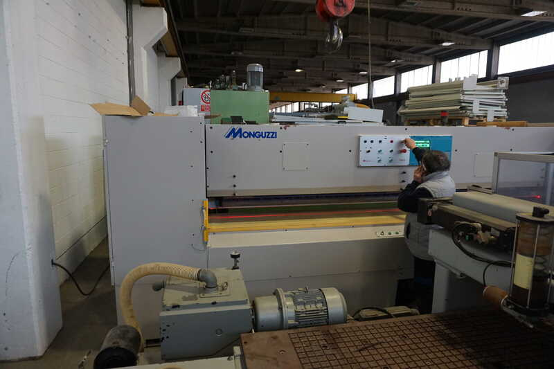 Monguzzi Double Knife Veneer Guillotine - second-hand TRM 2 L 3600 (23)