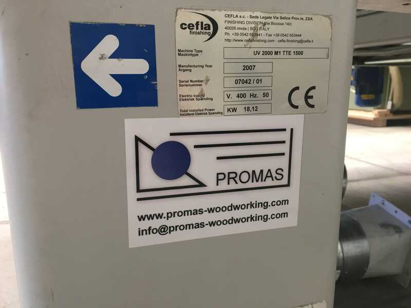 Cefla/Sorbini UV-Dryer - second-hand UV 2000 (11)