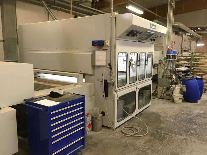 Venjakob Spray Machine - second-hand HGS Duo C (1)